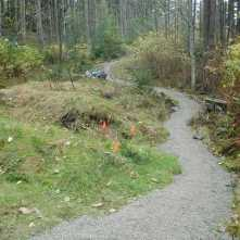 Main trailhead, November 2005