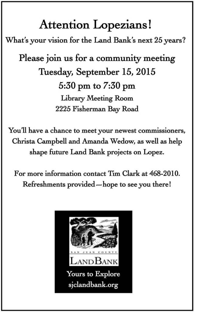 9.15.2015 Lopez Public Meeting